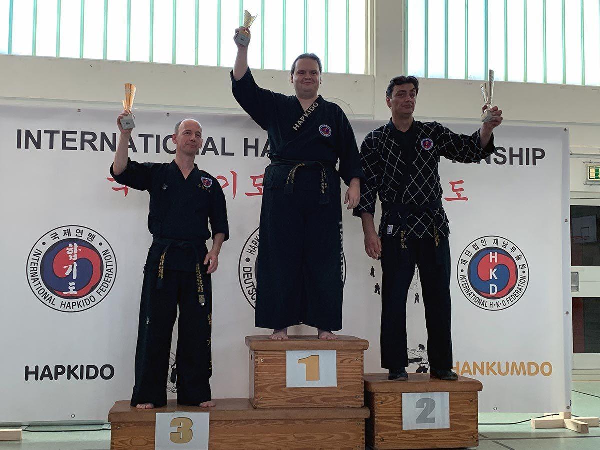 Meisterschaft 2019 Waffenform Freestyle 2.Platz-Marcel
