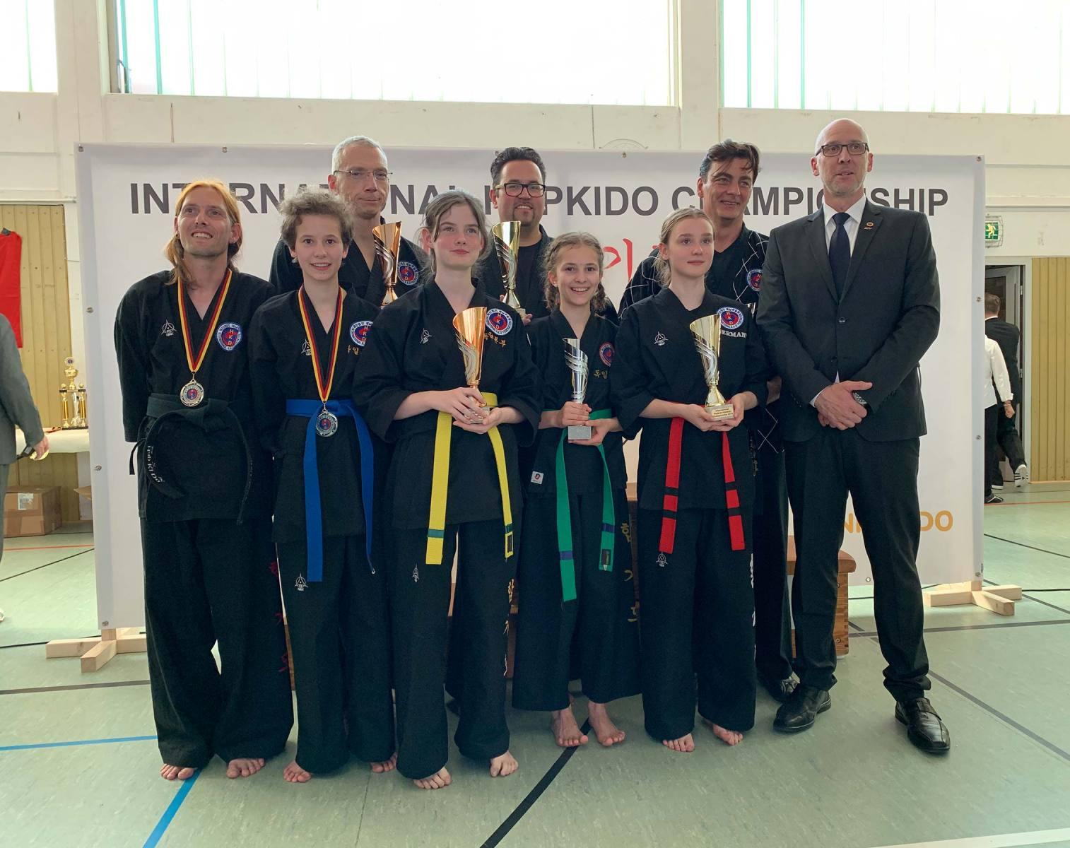 Team ILYO Hapkido Meiserschaft 2019 in Eschweiler
