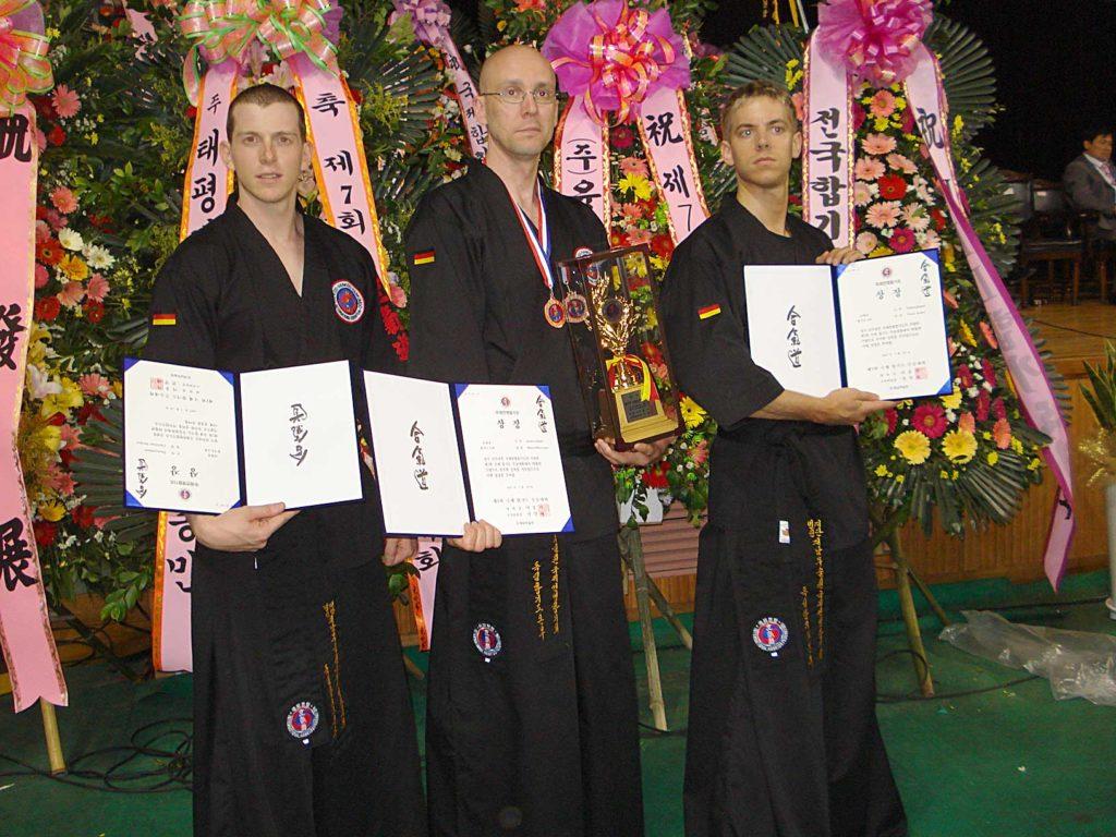 Worldgames 2007 Süd-Korea, Christian Decker, Marcel Bassiner, Yves Acker, Bronze Medaille