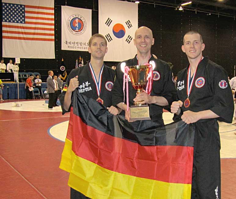 Worldgames-2010-USA,-Yves-Acker,-Marcel-Bassiner,-Christian-Decker,-Bronze-Medaille