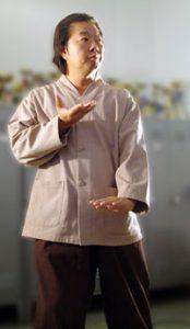 Präsident der IHF, Myung Sung Kwang.